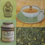 AG1210_6154 - Serwetki do decoupage GREEN TEA - 2szt