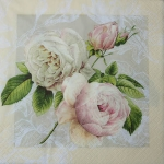 HM211237 - Serwetki do decoupage Cottage Rose - 2szt