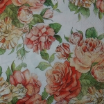 LU781160 Rose Garden weiss - serwetki do decoupage 2szt